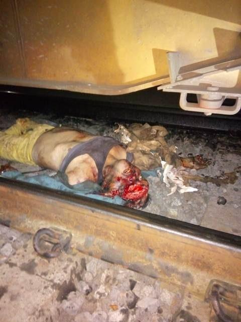 ¡Hombre murió atropellado y arrastrado por el tren en Aguascalientes!