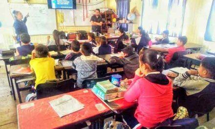 ¡La PM de Jesús María promueve acciones de Prevención del Delito en escuelas de educación básica!