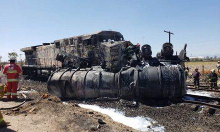 ¡Choque entre una pipa y el tren en Aguascalientes cobró su tercera víctima mortal!