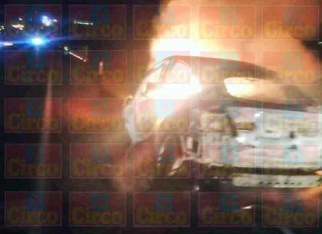 ¡Encontraron calcinado a un hombre en un vehículo incendiado en San Juan de los Lagos!