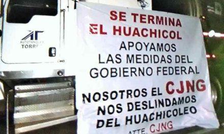 """¡CJNG se deslinda del """"Huachicoleo"""" y apoya acciones del Gobierno Federal contra ese delito!"""