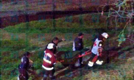 ¡Grave hombre alcoholizado que cayó del puente Agustín Rivera en Lagos de Moreno!