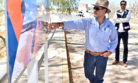 ¡Supervisa el Gobernador de Aguascalientes obras en San José de Gracia!