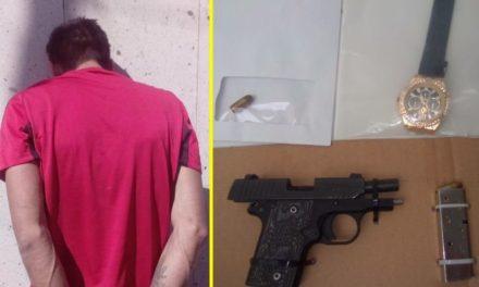 ¡Policías municipales de Aguascalientes rescataron a 5 personas privadas de su libertad y detuvieron a un pistolero!