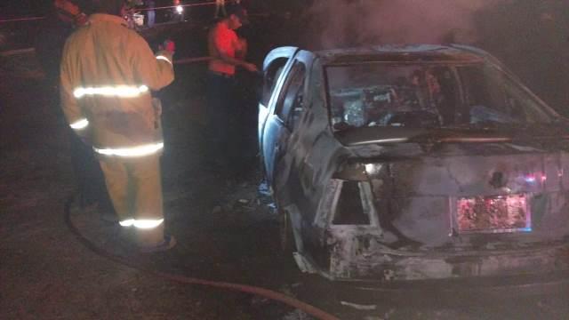 ¡Automovilista murió calcinado tras chocar contra una camioneta en Aguascalientes!