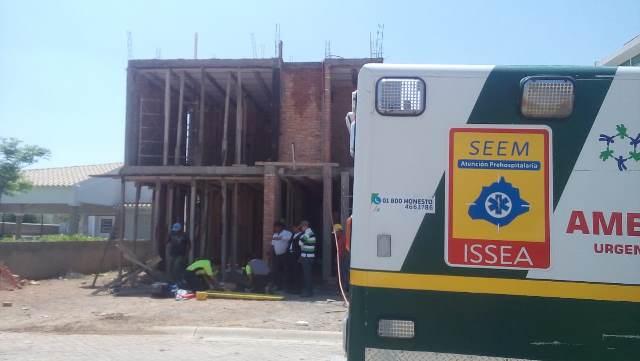 ¡Murió albañil tras caer de 5 metros de altura en una obra en construcción en Aguascalientes!