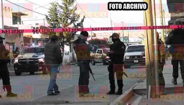 ¡Con un arma de fuego corta ejecutaron a un hombre en Calera!