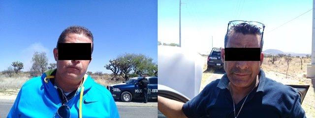 ¡Policías estatales de Aguascalientes detuvieron a implicados en asaltos domiciliarios!