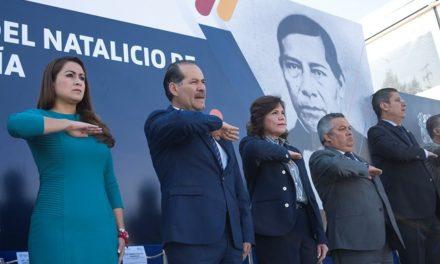 ¡Conmemoran el Natalicio de Benito Juárez llamando al fortalecimiento de la paz y la justicia en el país!