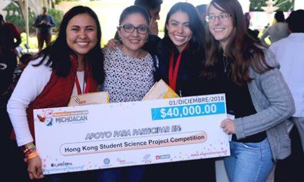 ¡Gobierno del Estado impulsa a talento científico local que representará a México en competencias en Hong Kong y Colombia!