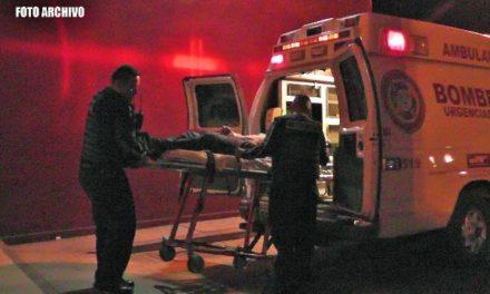 ¡Volcadura de un auto dejó 1 muerto y 3 lesionados en Zacatecas!