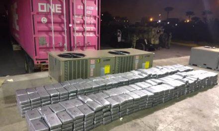 ¡Ejército Mexicano aseguró 600 kilogramos de cocaína en Tamaulipas!