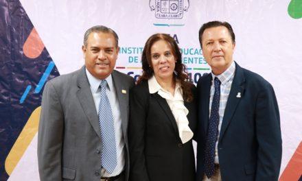 ¡IEA y SNTE trabajan a favor de la calidad educativa en Aguascalientes!