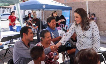 ¡Arranca Martha Márquez brigadas sociales en apoyo a la población más vulnerable del estado!