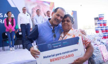 ¡Entregó el gobernador más de cuatro mil 500 apoyos sociales a familias vulnerables de los municipios!