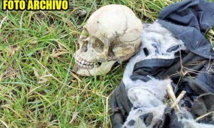 ¡Descubrieron restos humanos en una narco-fosa en Villa de Cos!