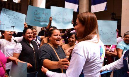 ¡Ciudadanos reconocen cercanía y apoyo de Tere Jiménez!