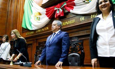 ¡Preside titular de la Seggob Apertura del Segundo Período Ordinario de la LXIV Legislatura local!