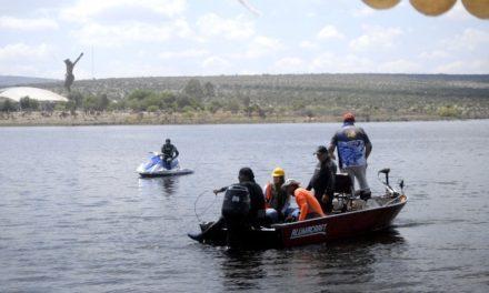 ¡Ya rescataron el cuerpo del joven ahogado en una presa en Aguascalientes!