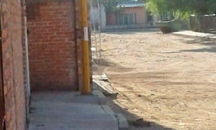 ¡Habitantes de El Terremoto exigen al Ayuntamiento de El Llano se ponga a trabajar!