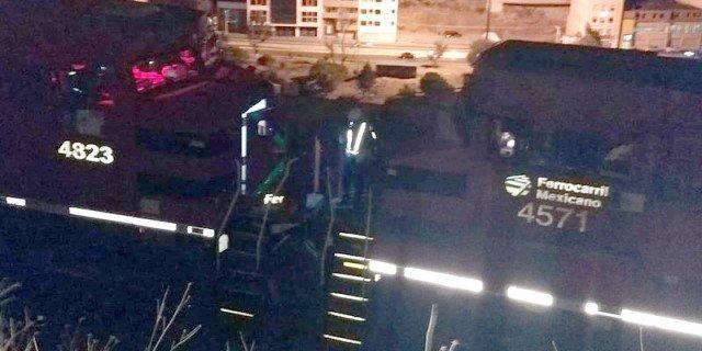 ¡Choque de 2 trenes en Zacatecas dejó 5 personas lesionadas!