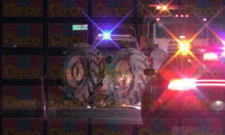 ¡Choque entre un auto y un tractor dejó 1 muerta y 7 lesionados en Saín Alto!