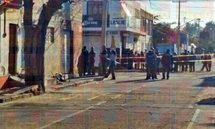 """¡Ejecutaron a balazos a """"El Keko"""" mientras barría la calle en Aguascalientes!"""