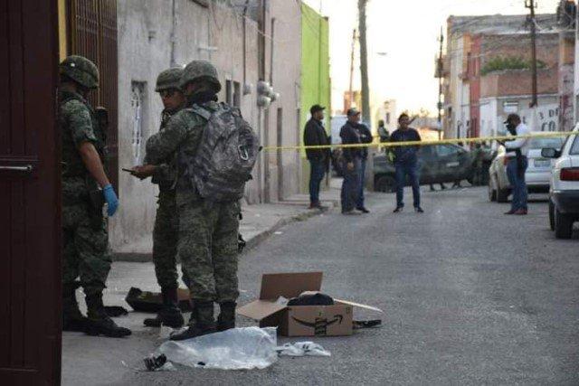 ¡Aseguraron artefactos explosivos de una célula delictiva en Lagos de Moreno!