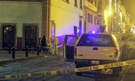 ¡2 adolescentes ejecutaron a un narcomenudista en el Centro de Zacatecas!