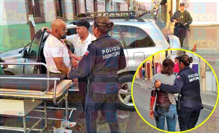 ¡Pareja baleada en Lagos de Moreno había sufrido otra agresión el lunes pasado!
