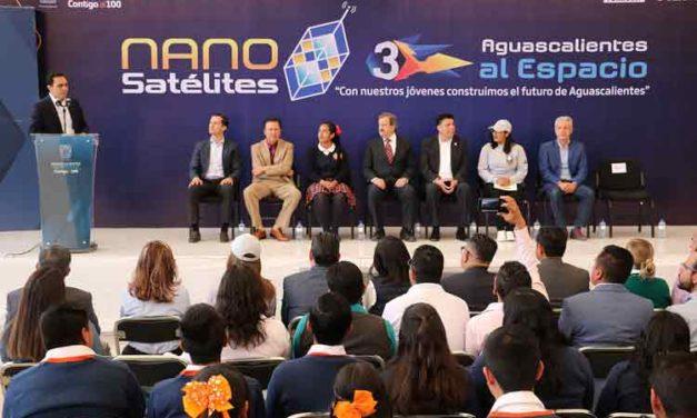 ¡Lanza Aguascalientes al espacio nano satélites fabricados por estudiantes de los once municipios!