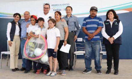 """¡Fueron premiados los equipos del cuadrangular """"Contigo al 100"""" en el Municipio de Asientos!"""