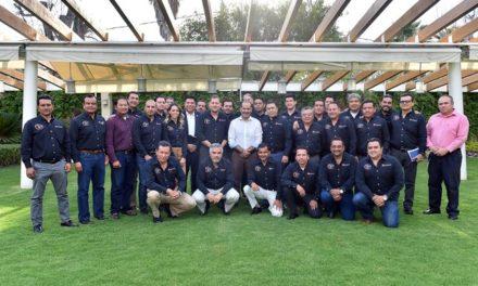 ¡Gobernador del Estado se reúne con directivos de MAEN, grupo industrial del ramo automotriz!