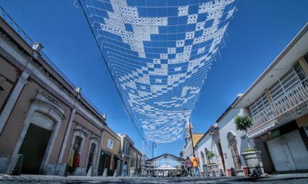 """¡Inició instalación de """"Deshilado"""" en el Corredor Cultural Carranza!"""