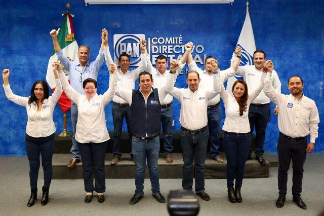 ¡Aguascalientes seguirá siendo azul: Gustavo Báez!