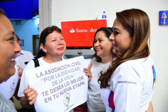 ¡Asociaciones civiles respaldan el trabajo de Tere Jiménez!