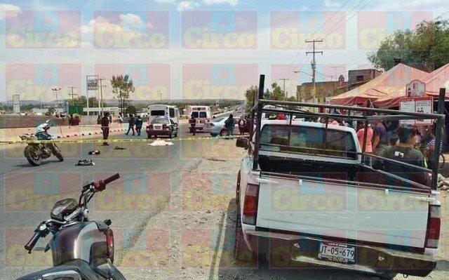 ¡Adulto mayor murió atropellado por veloz automóvil en Lagos de Moreno!