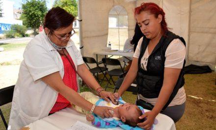 ¡Salud de la población es prioridad para Tere Jiménez!