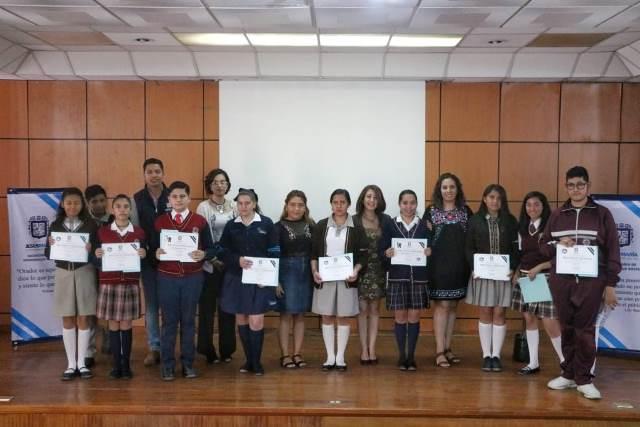 ¡Destacan estudiantes de Jesús María en concurso de oratoria!