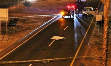 ¡Hombre murió atropellado por no utilizar un puente peatonal en Guadalupe!