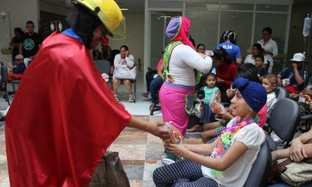 ¡Festejan el Día del Niño en hospitales y centros de salud!