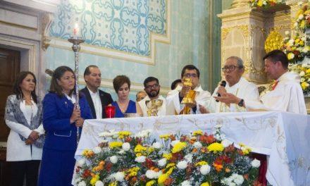 ¡Gobernador Martín Orozco Sandoval asistió a la tradicional misa de gallo de San Marcos!