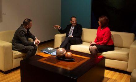 ¡Se reunió gobernador del Estado con representante en México de la UNESCO!