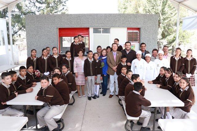 ¡Invierte IEA más de 7 millones de pesos en instalación y acondicionamiento de comedores escolares!