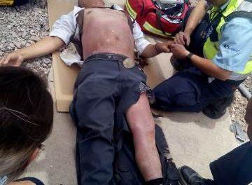 ¡Agoniza guardia de seguridad que se electrocutó dentro de una empresa en Aguascalientes!