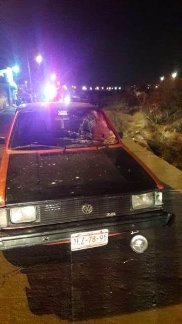 ¡Sexagenaria murió atropellada por un automóvil en Aguascalientes!
