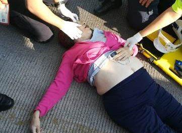 ¡Mujer murió atropellada por una automovilista en Aguascalientes!