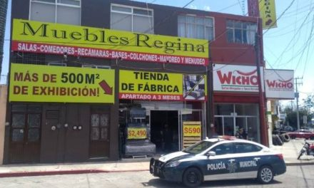 ¡Detuvieron e inician proceso penal a sujeto que asaltó una mueblería en Aguascalientes!