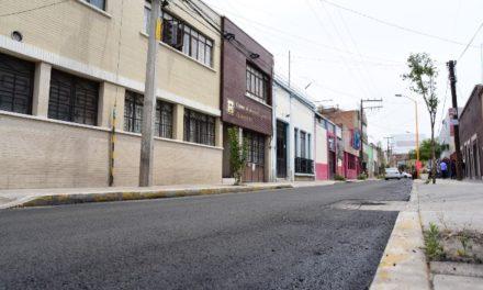 ¡Más de 100 millones en rehabilitación de calles y avenidas con carpeta asfáltica!