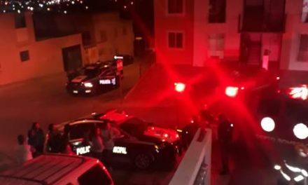 ¡Policía municipal de Aguascalientes rescató a un niño de 5 años de edad de un incendio domiciliario!